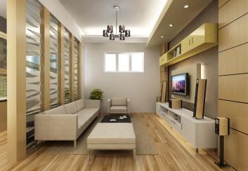 Tư vấn thiết kế nội thất chung cư sắc màu tươi sáng