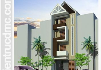 Thiết kế cải tạo nhà phố, nhà ống 4 tầng hiện đại