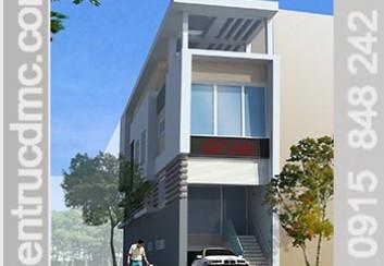 Thiết kế nhà phố đẹp 4 tầng hiện đại kết hợp kinh doanh