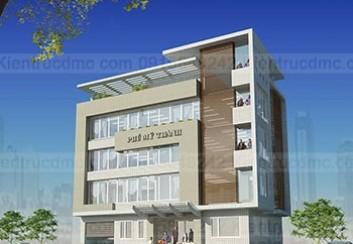 Thiết kế trụ sở văn phòng làm việc Phú Mỹ Thành