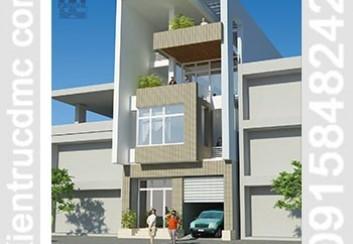 Thiết kế biệt thự phố trên đất 156m2