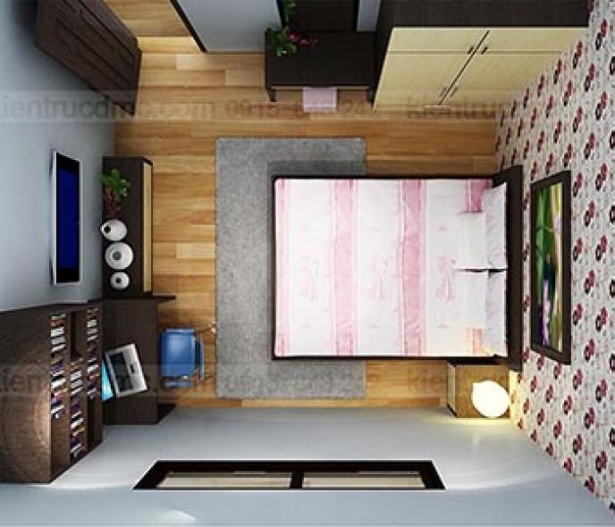 Thiết kế nội thất căn hộ chung cư Mường Thanh