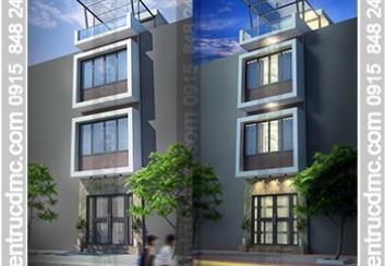 Thiết kế cải tạo nhà phố nhỏ 43m2 đẹp hiện đại