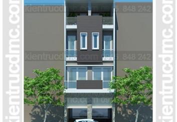 Thiết kế nhà phố ghép