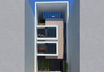 Thiết kế nhà ống 4 tầng diện tích 94,5m2