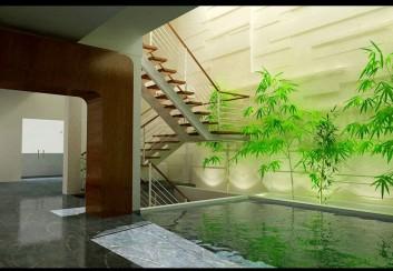 Tư vấn thiết kế kiến trúc giếng trời hợp phong thủy