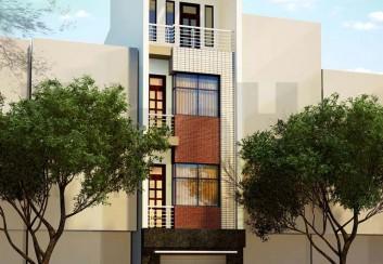 Thiết kế nhà phố 4,5 tầng diện tích 47m2