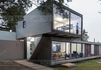 Mẫu nhà 2 tầng đẹp – Mẫu số 1