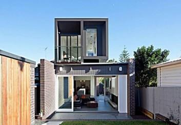 Thiết kế nhà 2 tầng có kiot kinh doanh riêng biệt