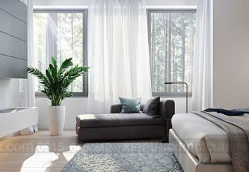 Mở cửa sổ hợp lý cho từng không gian trong thiết kế nhà phố