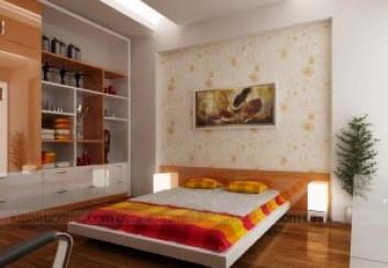Thiết kế nội thất nhà lô Khu giãn dân Ao Vang