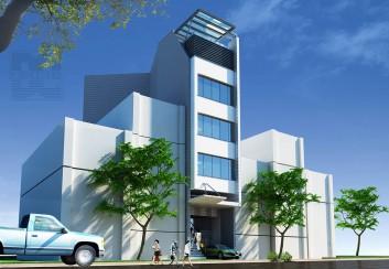 Tư vấn thiết kế nhà phố 4.5 tầng