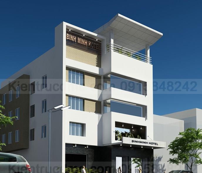 Thiết kế cải tạo khách sạn Bình Minh