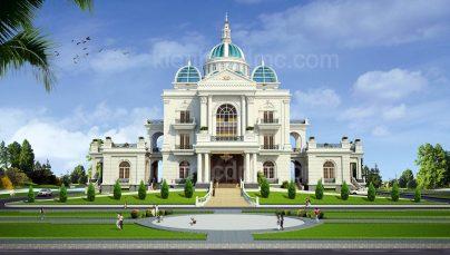Thiết kế dinh thự Ninh Bình
