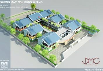 Thiết kế Trường Mầm Non xã Đồng Quang