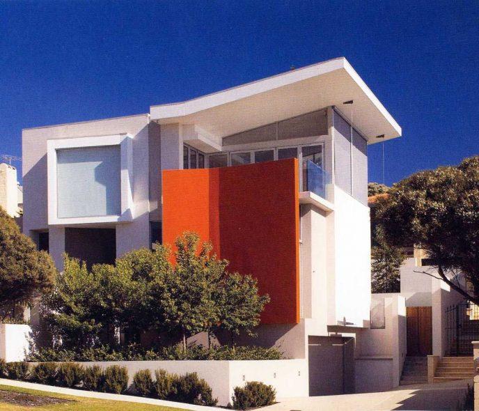 Công trình kiến trúc nhà đẹp – Nhà sẫm màu