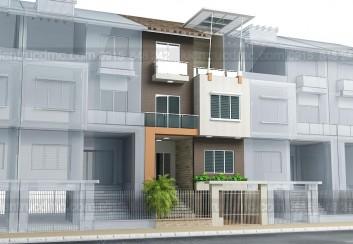 Mẫu thiết kế nhà phố 4 tầng diện tích 135m2