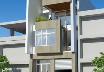 Thiết kế nhà ở kết hợp văn phòng 156m2