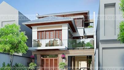Thiết kế biệt thự mini Hưng Yên