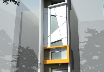 Tư vấn thiết kế nhà phố 4.1mx12m