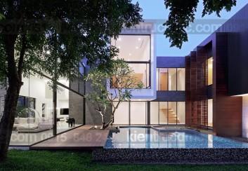Mẫu nhà 2 tầng đẹp – Mẫu số 14