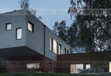 Thiết kế nhà ở theo modules đúc sẵn
