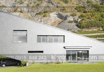 Ngôi nhà lộn ngược ở Thụy Sỹ