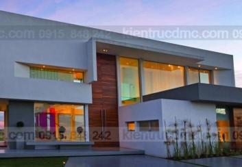 Mẫu nhà 2 tầng đẹp – Mẫu số 18