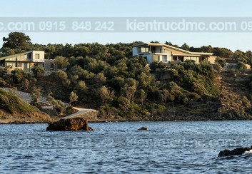 Biệt thự bên bờ biển ở quần đảo Lesvos