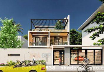 Thiết kế biệt thự 2 tầng phong cách hiện đại, sang trọng