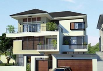 Thiết kế biệt thự 3 tầng 234m2