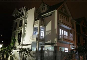 Thiết kế biệt thự Mỹ Đình 3 tầng