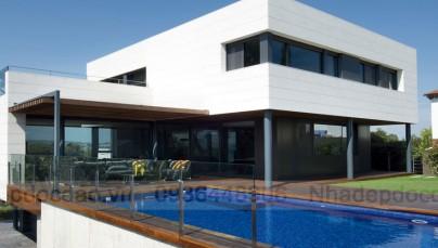 Thiết kế biệt thự trên đồi ở Tây Ban Nha