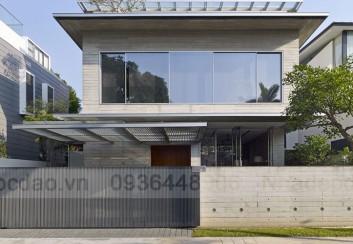Thiết kế biệt thự xanh ở Sigapore