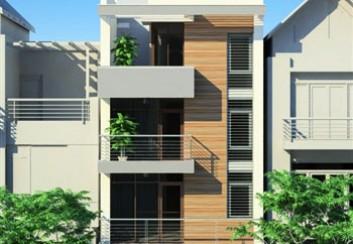 Thiết kế nhà phố 5 tầng 100m2 đẹp phong cách