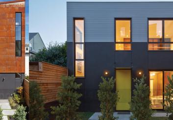 Thiết kế nhà phố 3 tầng bằng thép độc đáo