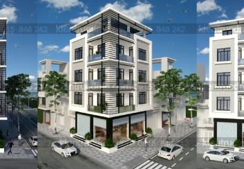Thiết kế nhà phố kết hợp kinh doanh mặt tiền 8.5m
