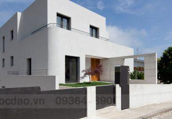 Thiết kế nhà phố theo phong cách tối giản