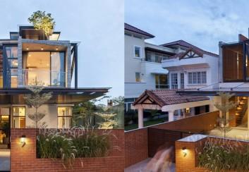 Thiết kế nhà phố thông thoáng ở Singapore