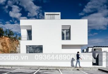 Thiết kế nhà phố vuông diện tích 11m x 11m