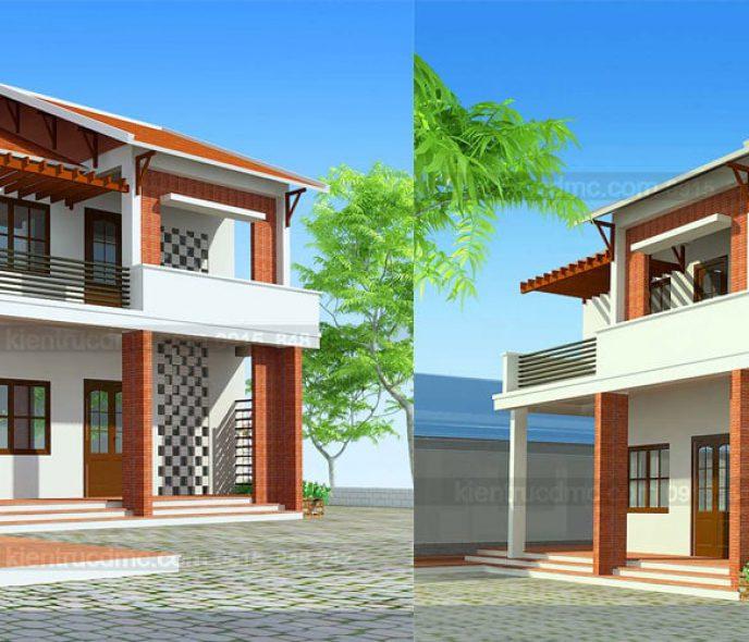 Thiết kế nhà vườn 658m2 Yên Bái