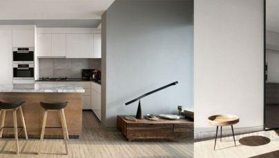 Thiết kế nội thất chung cư diện tích 75m2 phong cách mở