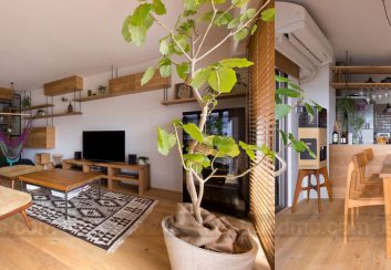 Thiết kế nội thất chung cư diện 85m2 sang trọng, ấm áp