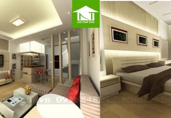 Thiết kế nội thất nhà phố kết hợp văn phòng làm việc