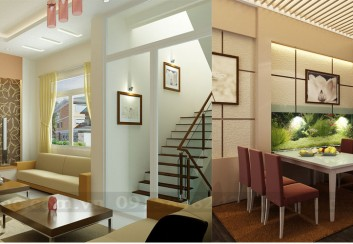 Thiết kế nội thất nhà phố diện tích 43m2
