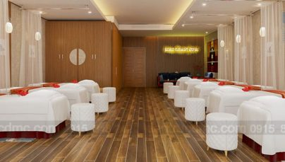 Thiết kế nội thất trung tâm chăm sóc sắc đẹp Mai Loan Spa