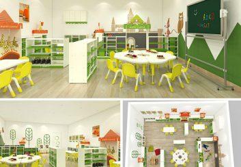 Thiết kế trường mầm non tư thục đẹp tại Trung Quốc