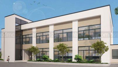 Thiết kế trụ sở Công ty Cổ phần Môi Trường Thuận Thành