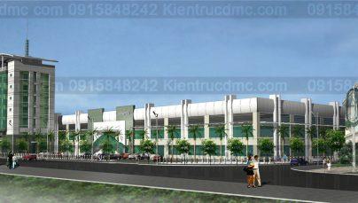 Thiết kế trụ sở Công ty Sơn Hà