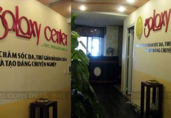 Thiết kế trung tâm Spa Galaxy Center